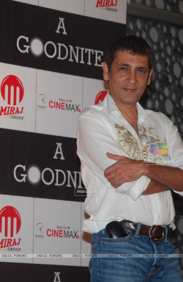 Kumar Gaurav at Mahurat of Film A GOODNITE at Cinemax Versova. .