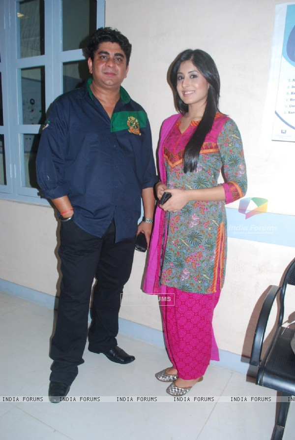 Kritika Kamra with Producer Rajan Shahi's new show Kuch Toh Log Kahege bash
