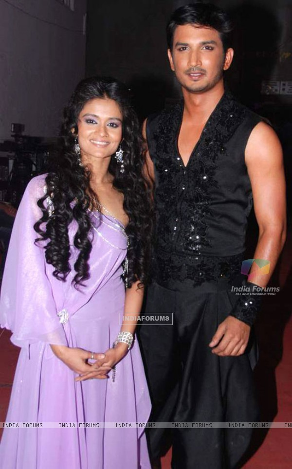 Sushant and Shampa from Jhalak Dikhhla Jaa 4