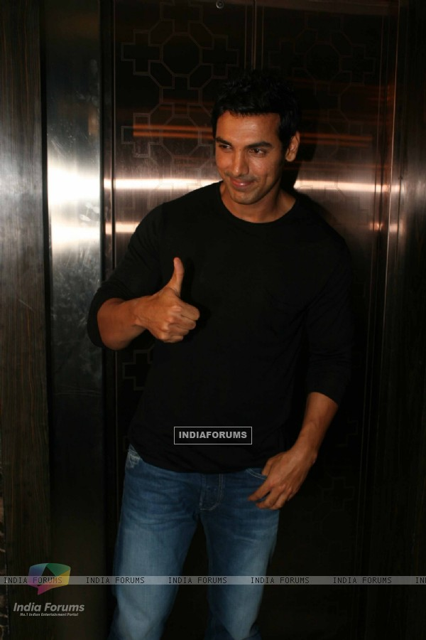 John Abraham at Success party of 'Force' movie (162918)