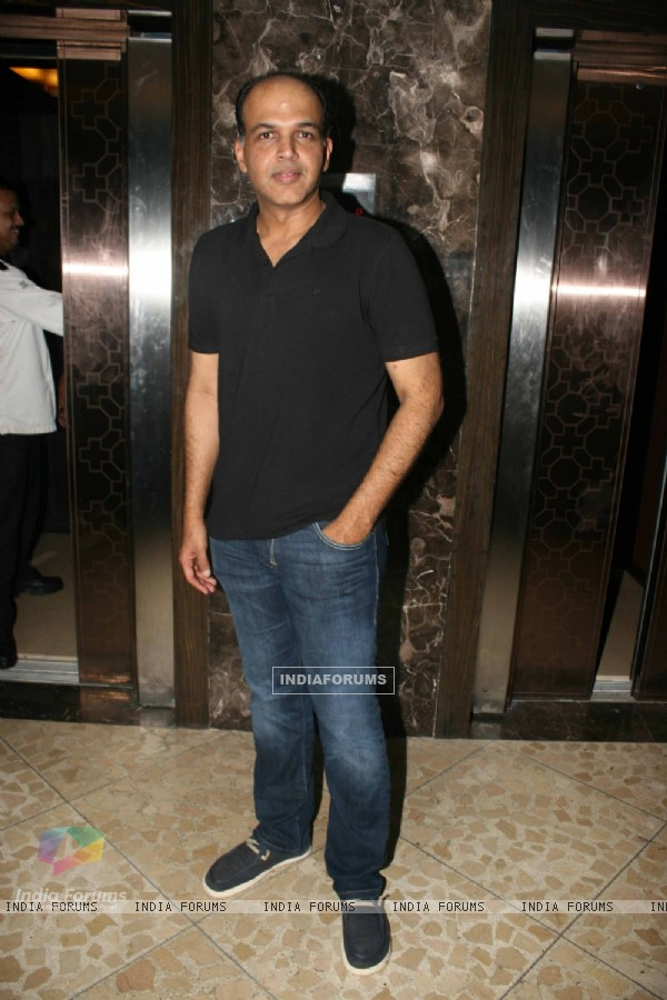 Ashutosh Gowarikar at Success party of 'Force' movie