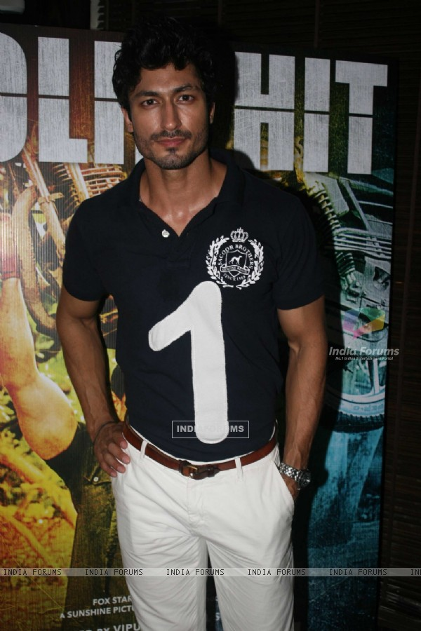 Vidyut Jamwal at Success party of 'Force' movie (162922)