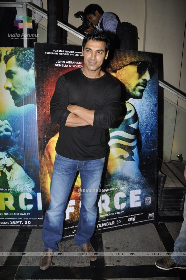 John Abraham at Success party of 'Force' movie (162934)