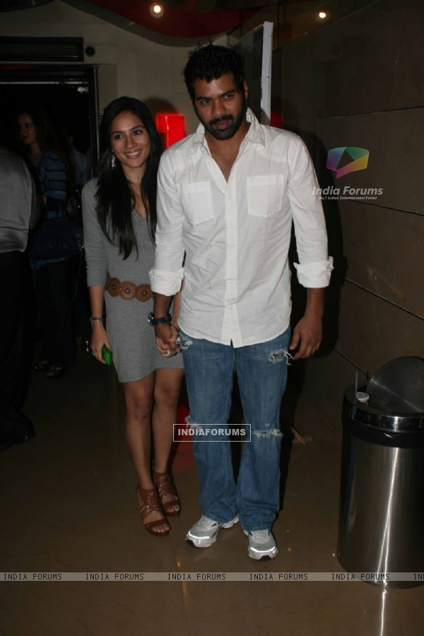Shabbir Ahluwalia and Kanchi Kaul at Premiere of movie 'Love Breakups Zindagi' at PVR