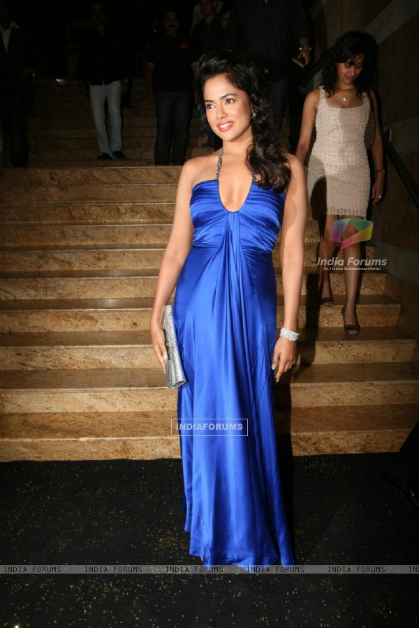 Sameera Reddy at People Magazine - UTVSTARS Best Dressed Show 2011 party at Grand Hyatt in Mumbai