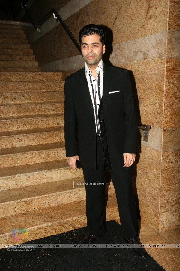 Karan Johar at People Magazine - UTVSTARS Best Dressed Show 2011 party at Grand Hyatt in Mumbai