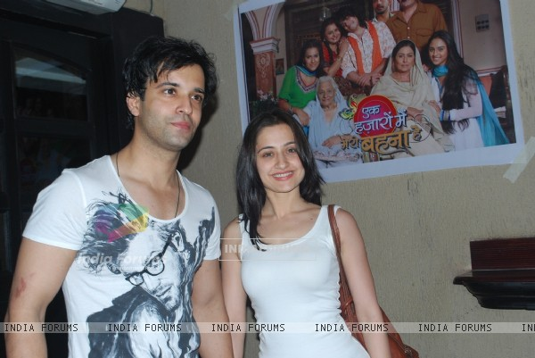 Aamir Ali and Sanjeeda Shaikh at Cinevista Producer Siddharth P Malhotra triple celebration party