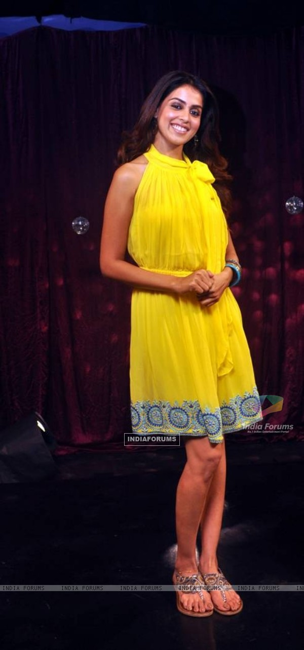 Genelia Dsouza on Zoom