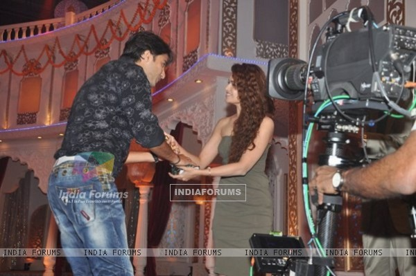 Shaheer Excited Receiving ITA Award 2011