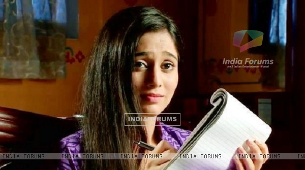 Soumya Seth as Navya in tv show Navya