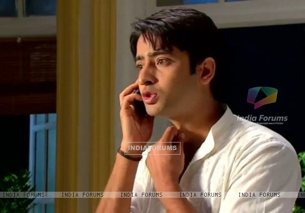 Shaheer Sheikh as Anant in TV Show Navya