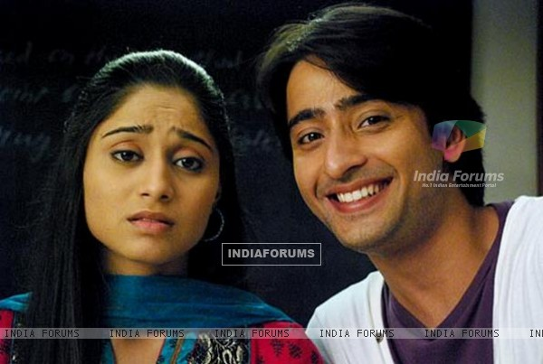 Shaheer Sheikh and Soumya Seth in Navya TV Show