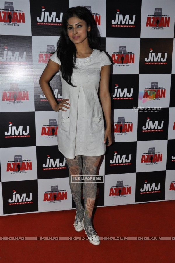 Mouni Roy at Premiere of film 'Aazaan' at PVR Cinemas in Juhu, Mumbai