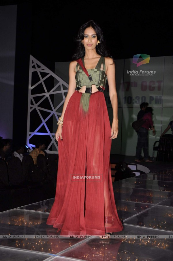 Model Ujjwala Raut at Kingfisher Modelhunt Flag-off event in Mehboob, Mumbai