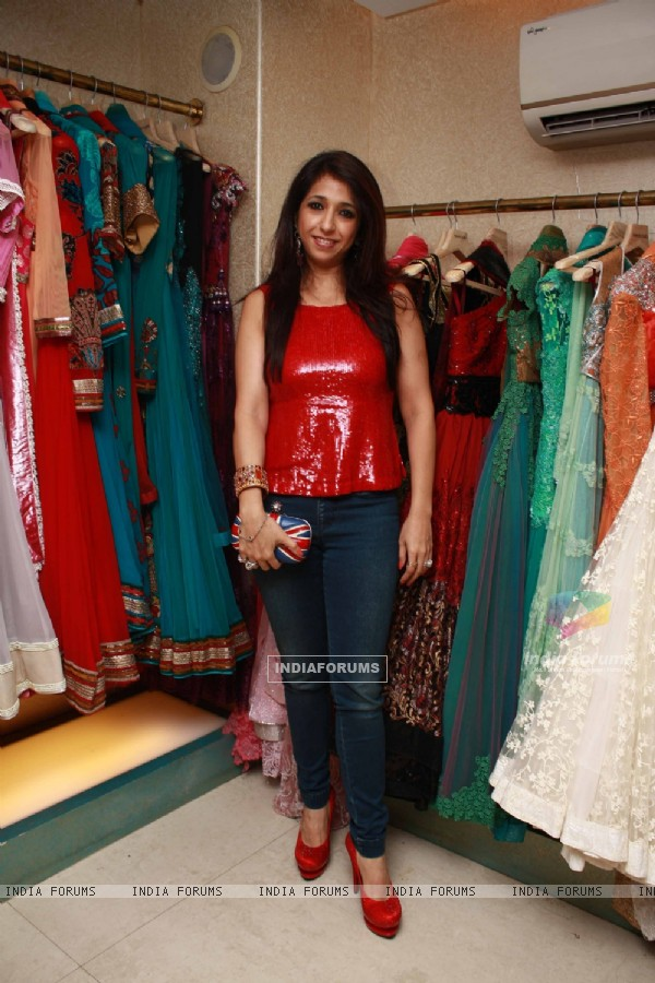 Guest at Neeta Lulla previews her latest collection in Khar