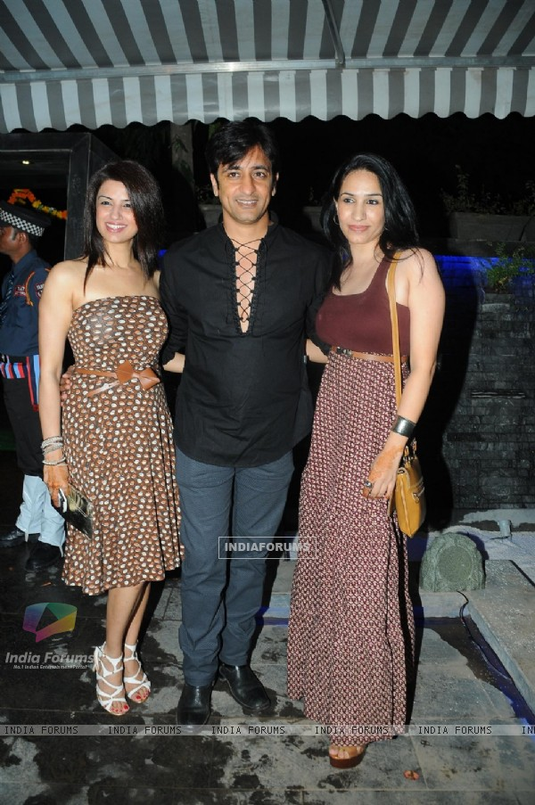Rajeev Paul with friends at Grand launch of 'CAVE' for the first time in Mumbai a Sunken Bar and Cav