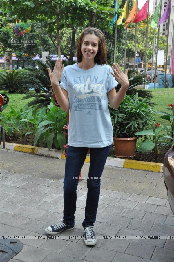 Kalki Koechlin at NBA Jam presented by HP at the R City Mall, Ghatkopar in Mumbai