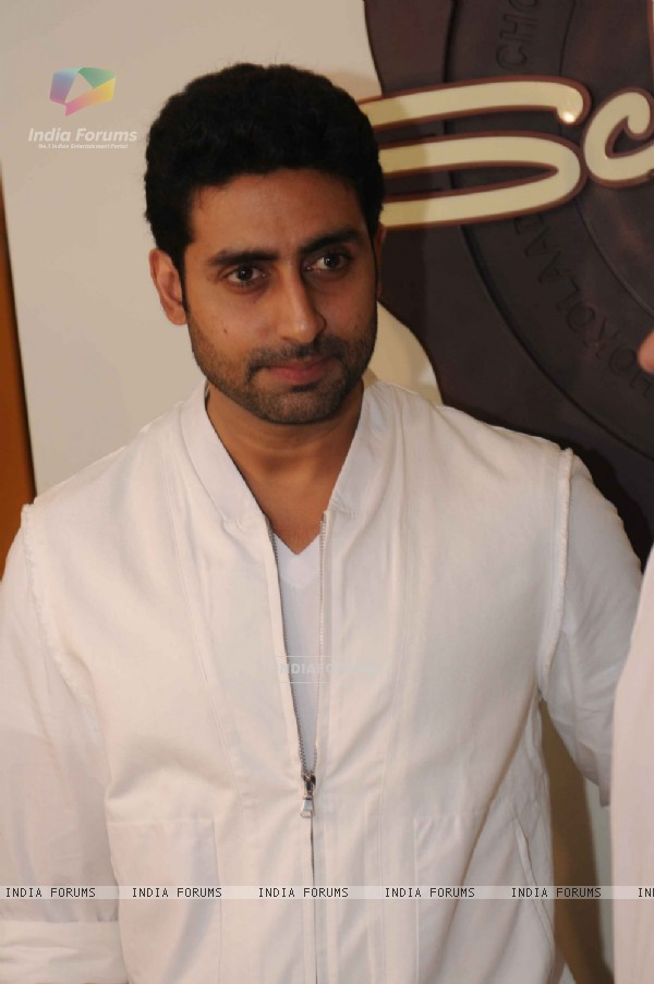 Abhishek Bachchan at launched of Anita Dongre desert cafe - Schokolaade at Khar Linking Road