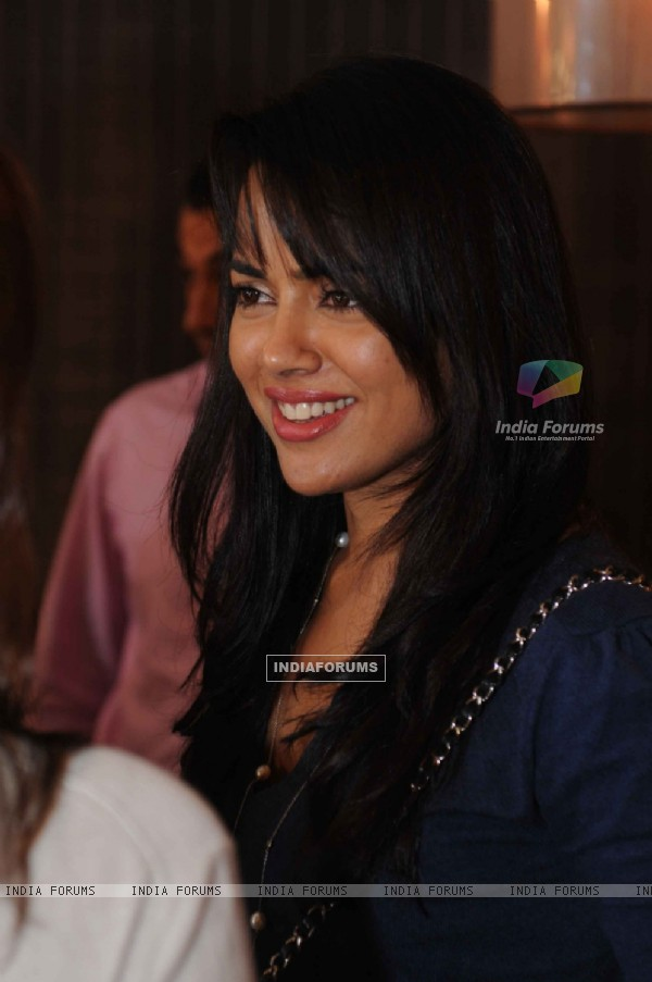Sameera Reddy at launched of Anita Dongre desert cafe - Schokolaade at Khar Linking Road