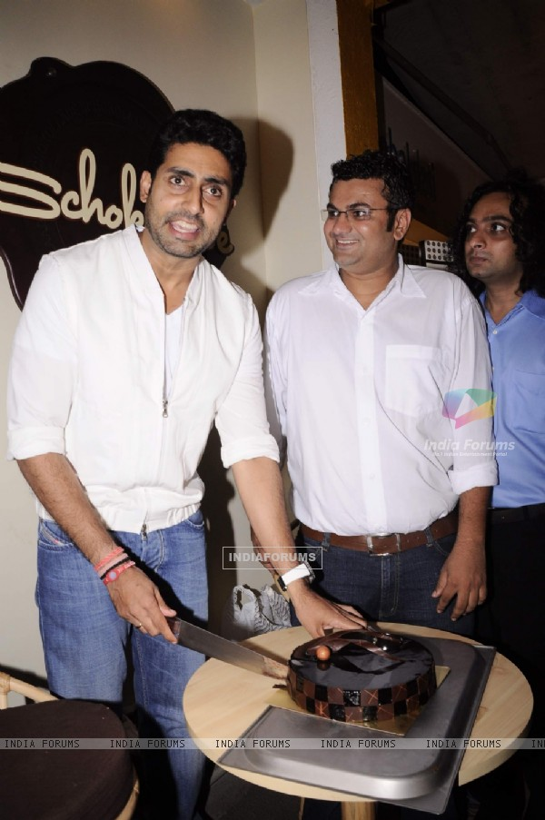 Abhishek Bachchan at Anita Dongre's Cafe Launch
