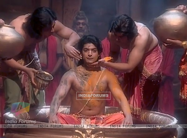 Gurmeet as Ram in Ramayan