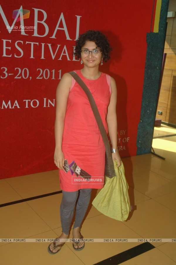 Kiran Rao at on Day 6 of 13th Mumbai Film Festival