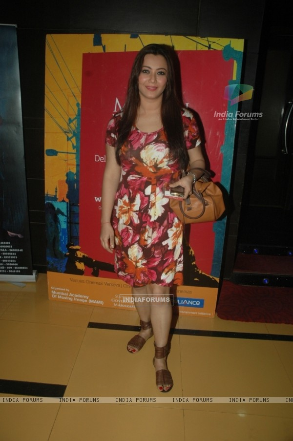 Nausheen Ali Sardar at on Day 6 of 13th Mumbai Film Festival