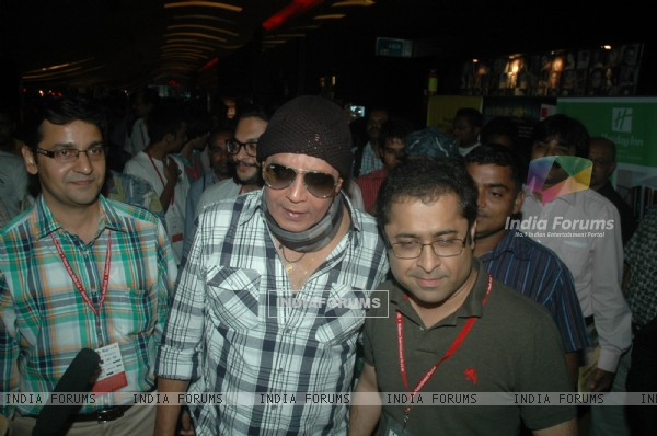 Mithun Chakraborty at Mami flm festival at Cinemax