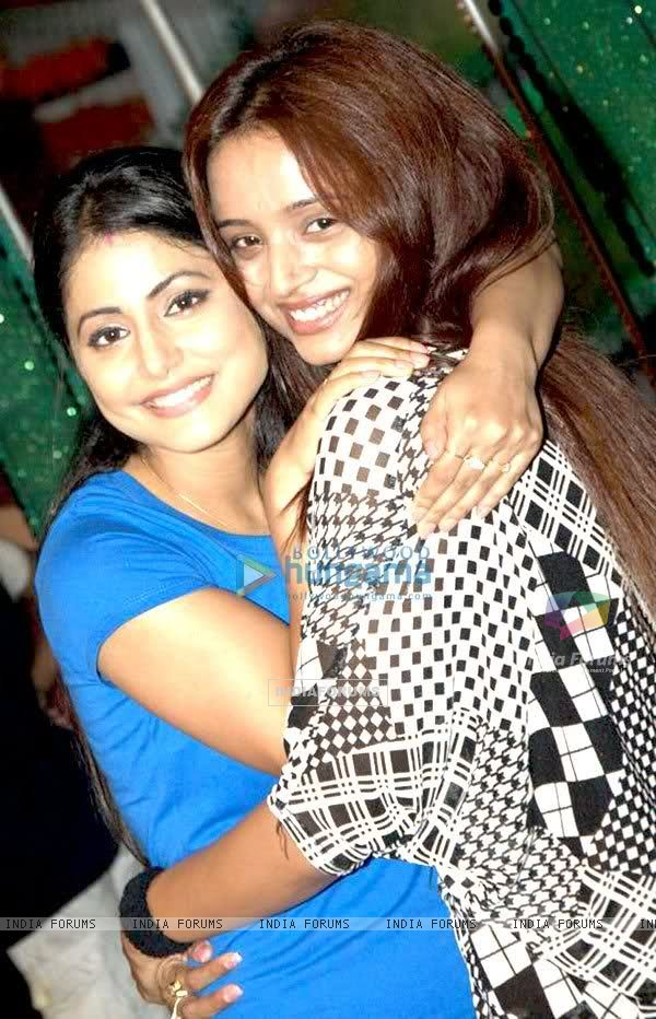 Hina Khan and Parul Chauhan
