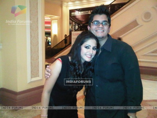 Hina Khan at SPA-2011 party at Macau