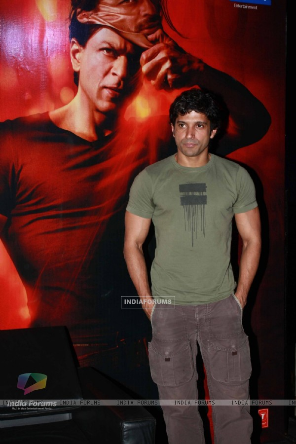 Farhan Akhtar at Press Conference of first look launch of Don 2