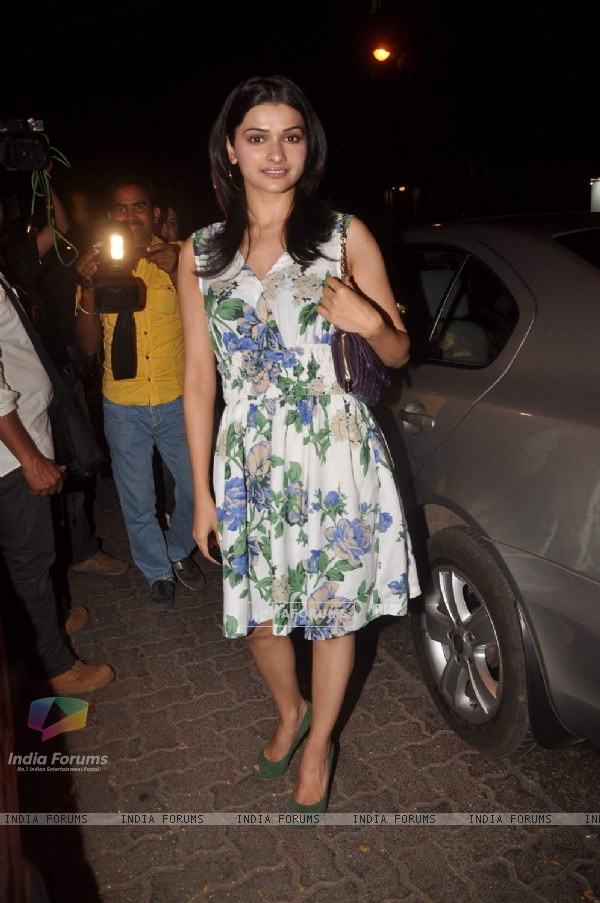 Prachi Desai at the opening of Love and Latte coffee shop in Bandra