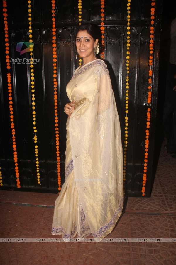 Saakshi Tanwar at Ekta Kapoor's Diwali Party