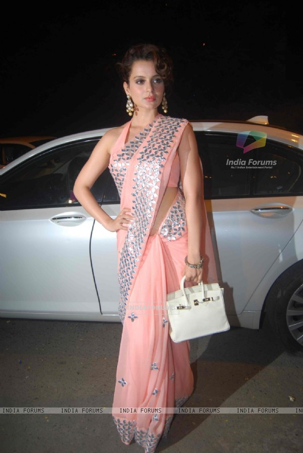 Kangna Ranaut at Ekta Kapoor's Diwali Party