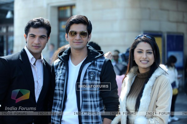 Still image of Ahem, Jigar and Rashi in Saath Nibhana Saathiya