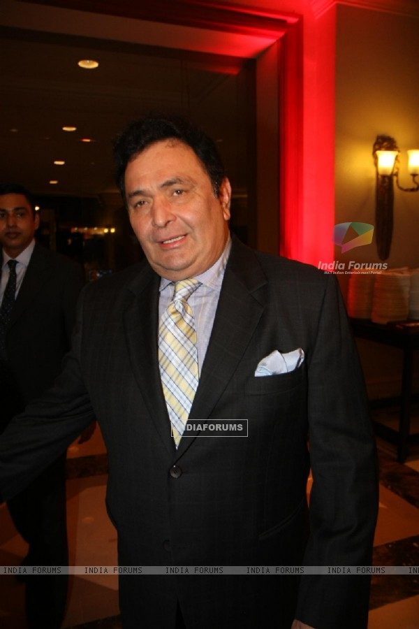 Rishi Kapoor at Firoz Nadiadwala organised event to support Anhad NGO at JW Marriott in Juhu, Mumbai
