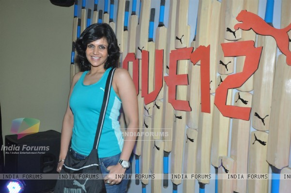 Mandira Bedi announced as the ambassador for Puma at Bungalow 9