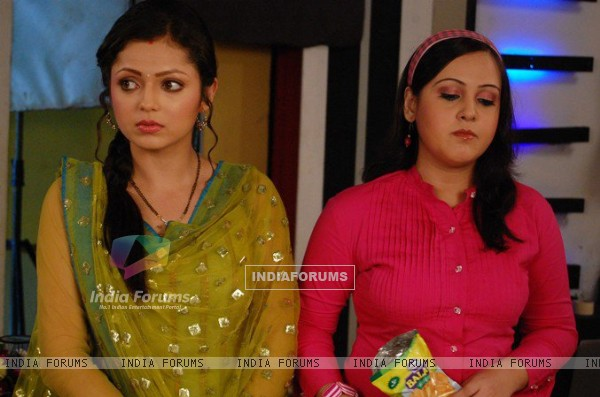 Still image of Geet and Aditi