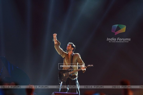 Ranbir Kapoor rock at 'Rockstar' live concert at Bhavans Ground (167217)