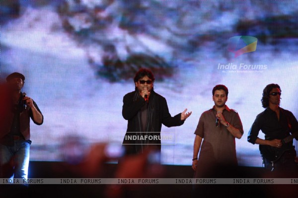 A.R. Rahman rock at 'Rockstar' live concert at Bhavans Ground (167235)