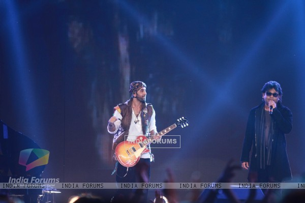Ranbir Kapoor and A R Rahman rock at 'Rockstar' live concert at Bhavans Ground (167243)