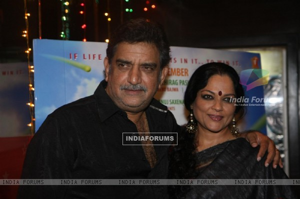 Tanvi Azmi at premiere of 'Miley Naa Miley Hum' at Cinemax