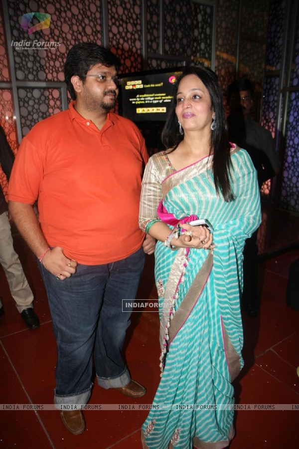 Smita Thackarey at premiere of 'Miley Naa Miley Hum' at Cinemax