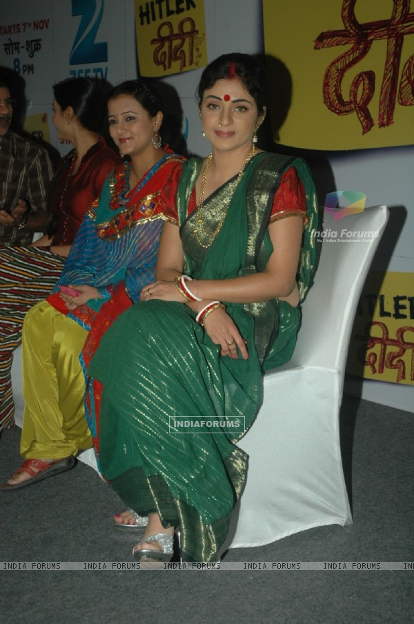Shabnam and Smita Singh at the Zee TV launches Hitler Didi at Westin