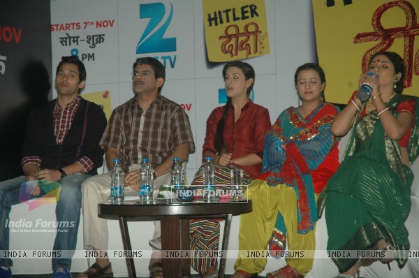 Cast at the Zee TV launches Hitler Didi at Westin