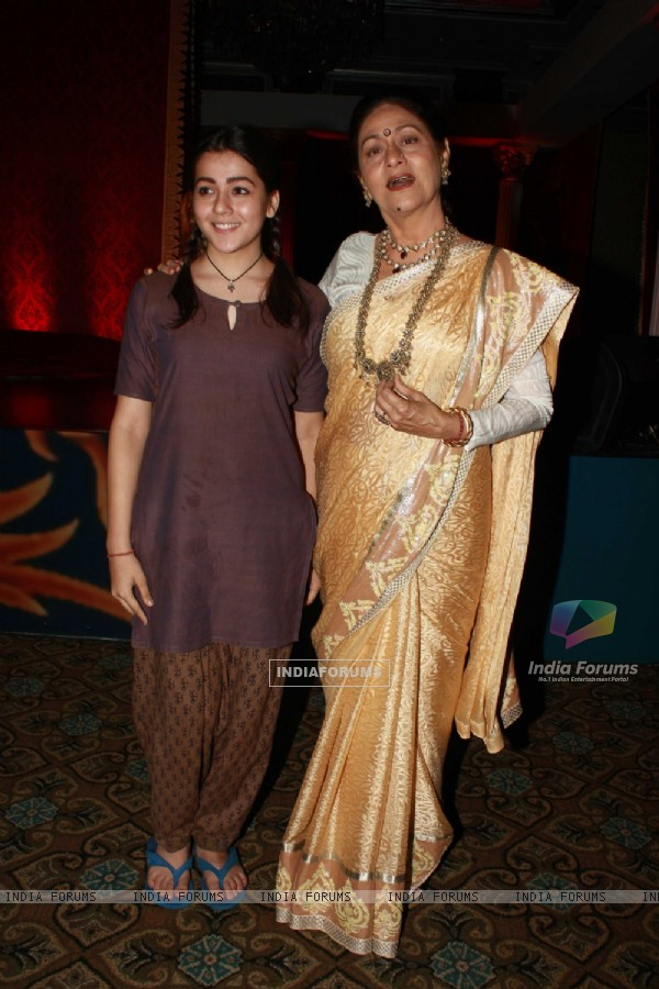 Aroona Irani with Priyal Gor launches her new show on Sony 'Dekha Ek Khwaab' at Taj Hotel