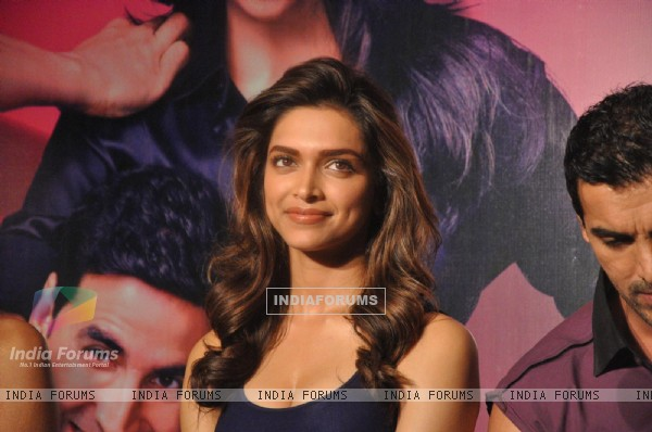Deepika Padukone at Desi Boyz music launch at Enigma