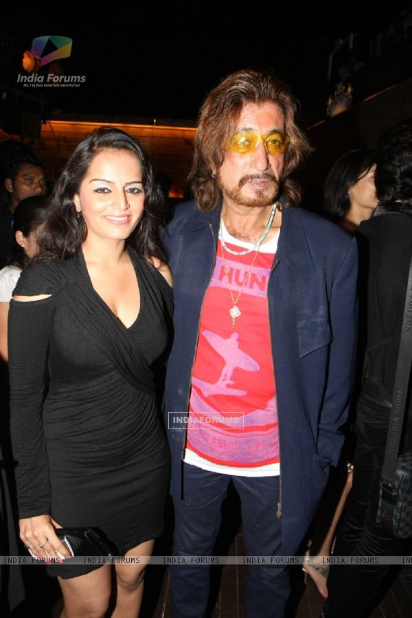 Shakti Kapoor grace Rohit Verma's birthday bash with fashion show 'Hare' at Novotel