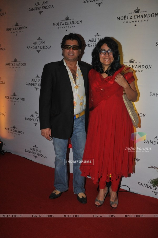 Ayub Khan grace Abu Jani and Sandeep Khosla's 25th year bash at the Grand Hyatt, Mumbai