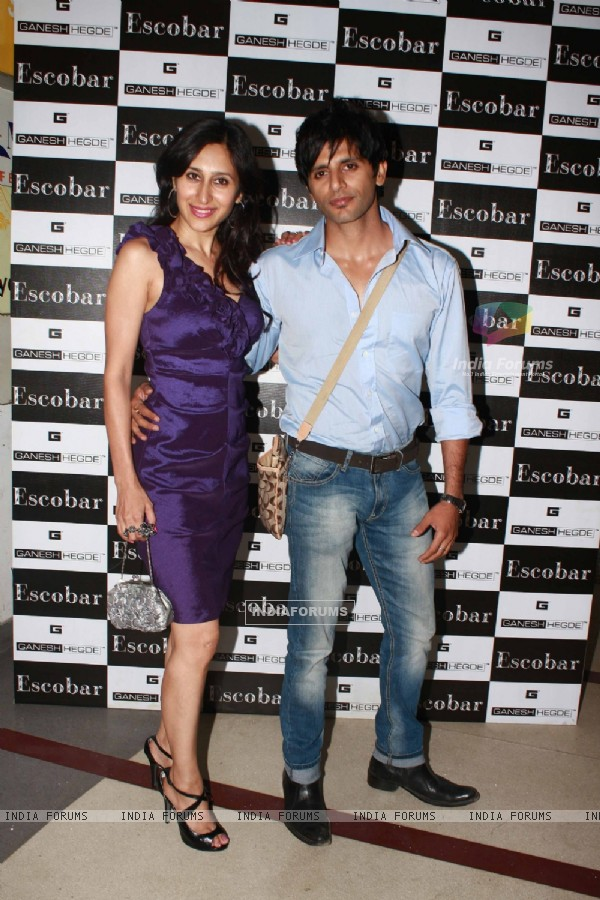 Teejay and Karan Vir Bohra grace Ganesh Hegde's birthday bash at Escobar
